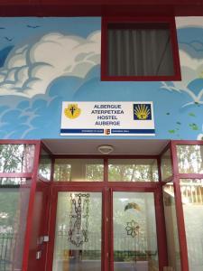 The facade or entrance of Albergue de Villava