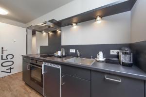 Küche/Küchenzeile in der Unterkunft Design & Lifestyle Hotel Estilo