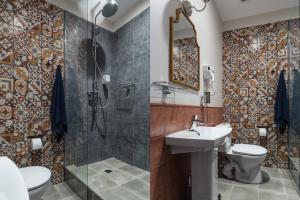 Ванная комната в New Horizon on Gromovoy