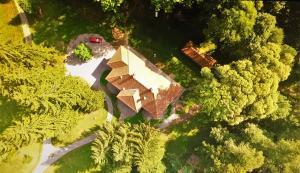 A bird's-eye view of Zabola Estate - Transylvania