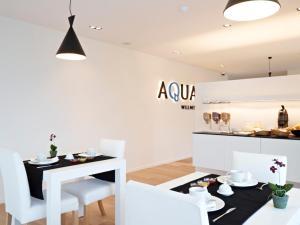 Een restaurant of ander eetgelegenheid bij B&B Aquabello