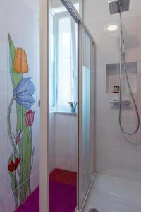 A bathroom at B&B Villa Giuli