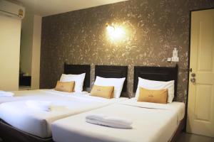 Cama o camas de una habitación en Erawan House