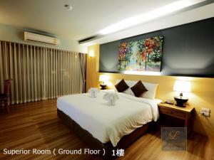 Una habitación en Le Naview @Prasingh
