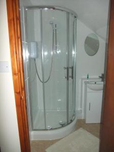 A bathroom at Woodway B&B