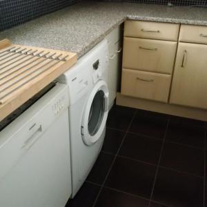 Küche/Küchenzeile in der Unterkunft Ferienwohnung Maj
