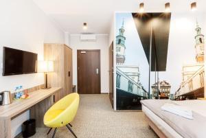 טלויזיה ו/או מרכז בידור ב-Meet Poznań Hotel
