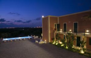 A balcony or terrace at Corte Olea Resort