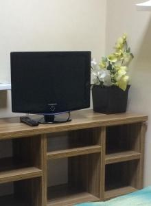 A television and/or entertainment center at Druzya
