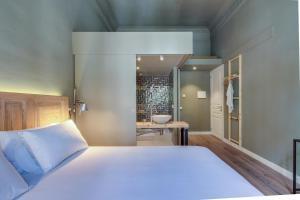 Cama o camas de una habitación en Principal B&Bcn