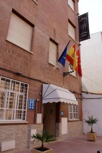 The facade or entrance of Cuatro Caños