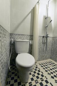 Koupelna v ubytování Le Lima