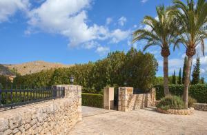 Jardín al aire libre en Ca Na Catalina