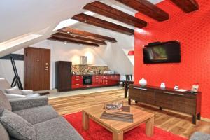 Salone o bar di Rentida Apartments