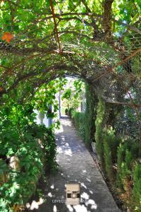Jardín al aire libre en Hotel Rural Villa Ignacia