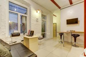 Гостиная зона в Apartment on Malaya Morskaya 16