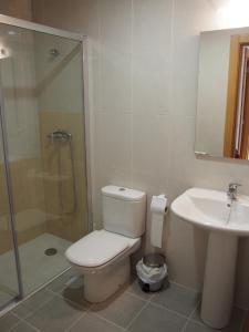 A bathroom at Albergue Segunda Etapa