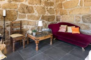 A seating area at Villa Lugar do Pego