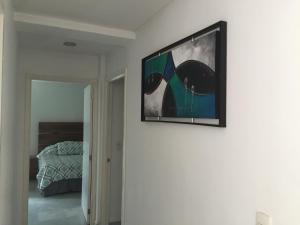 Una televisión o centro de entretenimiento en Condominios Acqua, Nuevo Vallarta