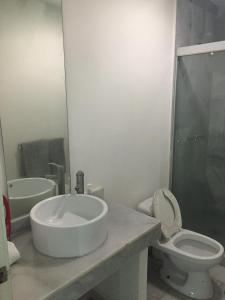 Un baño de Condominios Acqua, Nuevo Vallarta
