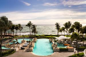 The swimming pool at or near Caribe Hilton