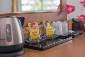 Facilități de preparat ceai și cafea la Sukcheewa Residence Phuket