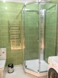 Ванная комната в Apartment Gorkogo 18