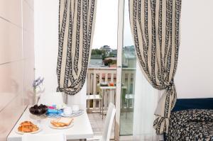 Balcon ou terrasse dans l'établissement Residence T2