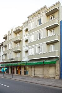 The facade or entrance of Hotel Erechim