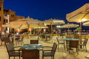 مطعم أو مكان آخر لتناول الطعام في Byoum Lakeside Hotel