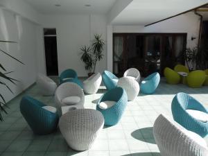 Area soggiorno di Residence Hotel Eden
