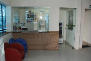 The lobby or reception area at Itália Hotel
