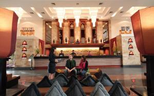 The lounge or bar area at Angkor Miracle Resort & Spa