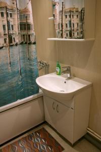 Ванная комната в Апартаменты на Склизкова 44
