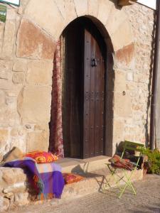 Un patio o zona al aire libre en Casa La Rinconada