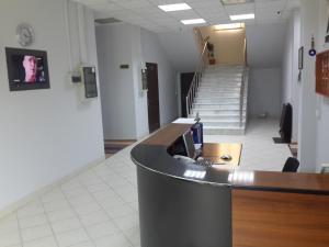 O saguão ou recepção de Montenegro Hotel