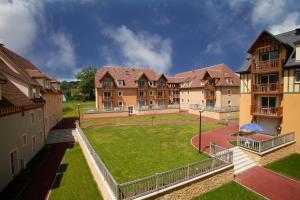 Jardin de l'établissement Résidence Odalys La Ferme de Deauville