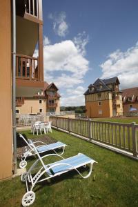 Terrasse ou espace extérieur de l'établissement Résidence Odalys La Ferme de Deauville