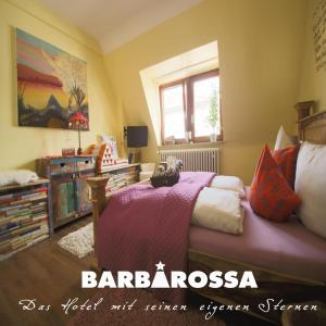 A room at Hotel Barbarossa Garni