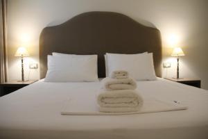A room at Hotel Hermes Tirana