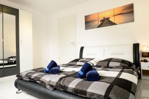 Ein Zimmer in der Unterkunft Design Apartment Metzingen
