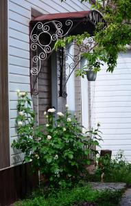 A porch or other outdoor area at Cottages On Gdantsevskaya Street