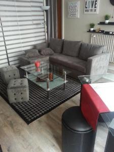 The lounge or bar area at Escapade Saint Jean