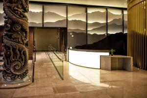 The lobby or reception area at Hotel Fusion, a C-Two Hotel