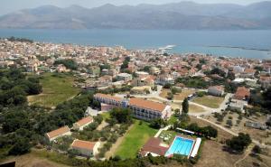 Гледка от птичи поглед на Palatino Hotel