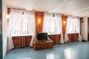 Гостиная зона в Studio on Morskaya 25