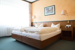 Ein Zimmer in der Unterkunft Hotel Reifenstein