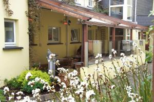 A porch or other outdoor area at The Old Imperial Hotel Youghal