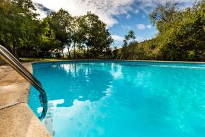 The swimming pool at or near Alberg La Solana
