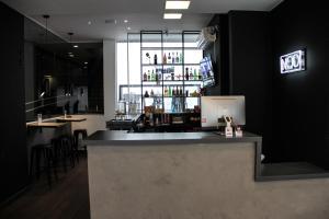 O lounge ou bar de NOD Hotel